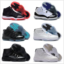 Wholesale Women Winter Boots Size 11 - Drop Shipping Wholesale Basketball Shoes Men Retro 11 Dan XI Sneakers Boots Authentic New Discount Outdoor High Cut Sports Shoes Size 8-13