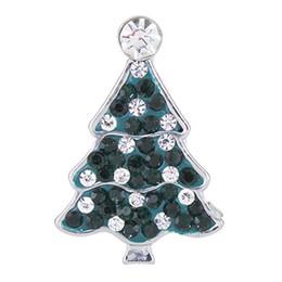NSB2390 Vente Chaude Snap Bijoux Bouton Pour Bracelet Collier 2015 Mode DIY Bijoux Cristal Arbre De Noël Conception Alliage Snaps ? partir de fabricateur