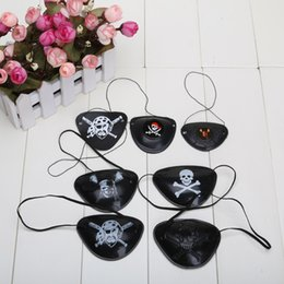 Wholesale Cyclops Eye Patch - Halloween masquerade pirate accessories pirate eye patch Cyclops eye patch
