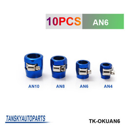Wholesale Tansky Oil Cooler - TANSKY - Universal AN6 16mm Straight Aluminum Turbo Hose End Clamp Finisher Fitting have in stock TK-OKUAN6
