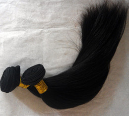 Wholesale Skin Hair Wefts - Cheap Human Hair!5 bundles Top 5A 8-30inch Unprocessed Hair Straight Wefts Indian Virgin Human Hair Extensions