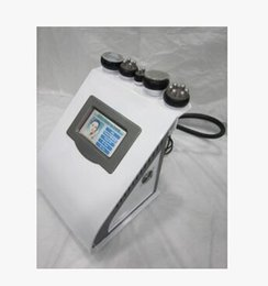 Wholesale Cavitation Liposuction Home - 5 in 1 portable vacuum ultrasonic liposuction cavitation slimming machine RF radio frequency fat weight loss home salon use