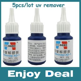 Wholesale Iphone Loca Glue - Wholesale-Freeshipping 5PCS Lot LOCA UV Glue Remover Dispergator for Removing LOCA UV Glue For Samsung&Iphone&HTC Glass Refurbish