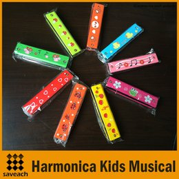 Wholesale Woodwind Musical Instruments - Wholesale Woodwind Instruments 16 Holes Tremolo Harmonica Kids Musical Instrument Educational Musical Toy 9 Colors New