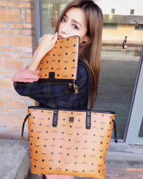 Wholesale Mothers Side - 2018 M the C latest M models of the classic style of the best quality fashion style hand-mother double-sided baroque lady handbag