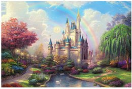 Wholesale Scenery Puzzles - Wholesale-2015 new arrival 1000 pcs high quality Scenery wooden puzzles puzzle for adult educational toys D green landscape
