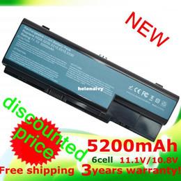 Wholesale Aspire 7736 - Lowest price Laptop Battery for Acer Aspire 7520G 7530 7530G 7535 7540 7720 7720G 7720Z 7730 7730G 7730Z 7730ZG 7735 7736 7738