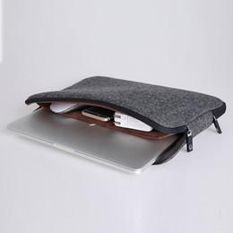 Wholesale Top Case For Macbook - Top Selling Waterproof Laptop Bag 12 13 15 15.6 Women Men Notebook Bag Case Laptop Sleeve for MacBook Air 13 Case