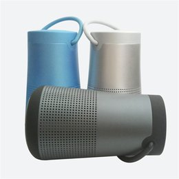 Wholesale Perfect Packaging - 2018 bluetooth speakers perfect noise canceling wireless speaker stereo loundly sound with logo and retail package