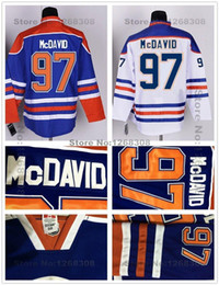 2015 Edmonton Hockey Jerseys  97 Connor McDavid Jersey Team Color Home Blue  White Edmonton Connor McDavid Hockey Jersey Mix Order b6cb1d6e1