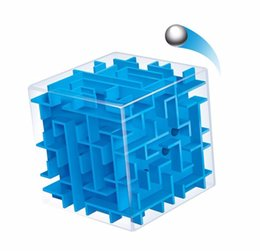 puzzle ball game Promo Codes - 3D Mini Speed Cube Maze Magic Cube Puzzle Puzzle Game Cubos Magicos Learning Toys Labyrinth Rolling Ball Toys For Chilren Adult