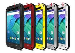 Wholesale Love Mei Powerful - LOVE MEI Extreme Powerful Shockproof Dirtproof Snowproof Metal cover phone Case for Motorola Moto X Style XT1572 XT1570