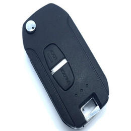 Wholesale Mitsubishi Button Flip Key - Brand New 2 Button Modified flip folding remote key shell for Mitsubishi ASX LANCER-EX GRANDIS Outlander Right Blade