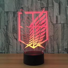 Wholesale Acrylic Light Sign - Home decoration, acrylic 3D sign lights, LED modern life table lamp, mini USB mood lamp bedroom, colorful 001