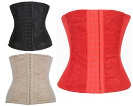 grande taille en acier désossé taille cincher formateurs Shapers corps dentelle taille formation corset serré laçage taille cincher shaperwear 5 couleurs ? partir de fabricateur