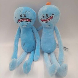 Wholesale Cucumber Cartoon - Hot Explosion Models Cartoon Character Cute And Long Paragraph Practical Rick And Morty Cucumber Plush Doll