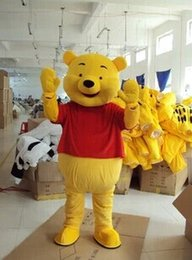 Wholesale Tiger Costumes Free Shipping - High quality Winnie the Pooh mascot Winnie the Pooh mascot costume Winnie the Pooh and tiger mascot free shipping