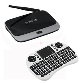 Wholesale Mini Pc 2g Keyboard Wifi - Quad Core Rk3188T CS918 TV BOX+Air Mouse Keyboard UKB-500 XBMC Android Mini PC 1.6GHz 2G RAM 8G ROM wifi Bluetooth 1080p HDMI