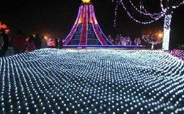 Argentina 2 m * 3 m 210leds Red Luces de la Cortina de Luz de Navidad Luces de Hadas Led Cuerdas de Led boda de Navidad Decoratio ac110v-250vn cheap xmas light net Suministro