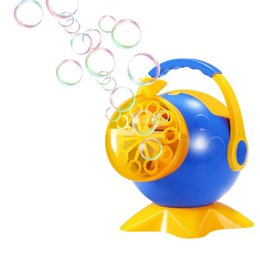 Wholesale Portable Outdoor Stage - OBCANOE Portable Electric Bubble Machine Bubble Maker Powered by Battery Gift for Indoor & Outdoor Parties Wedding Stage Show