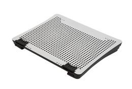 Ordinateur matériel en Ligne-Tableaux de refroidissement pour ordinateur portable 1.5mm panneau de matériau en aluminium hauteur réglable de 8 degrés pour les accessoires informatiques VAZIO N1-1-silvery