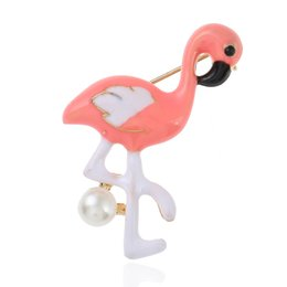 Wholesale Crane Wedding - Wholesale new children's brooch exquisite cute crane character high-end brooch factory direct features children's birthday gift backpack dec