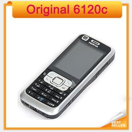 Wholesale Cheapest Phone Touch Screen - Cheapest Nokia Original 6120 Mobile Phones Not Touch Screen 6120c refurbished mobile phone Fast Shipping