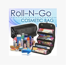 Wholesale Vanity Bag Travel - Makeup Cosmetic Make Up Organizer Bag Box Case Toiletry Travel Kits Vanity Bags Underwear Pouch Tidy Hygienic Pockets Store Simple SPO2017