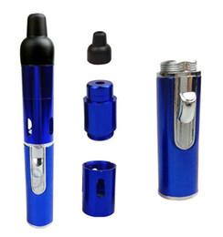 Wholesale Herbal Aromatherapy - Mini Click N Vapes Herbal Vaporizer smoking pipe with Lighter dry herb vaporizer best e cigarette Aromatherapy pen