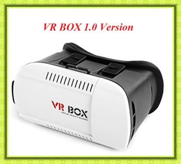 Wholesale Hot I5 - hot sale! VR BOX 1.0 Version Virtual Reality Glasses polarized Rift Google Cardboard 3D Movie for Smart Phone I5 I6