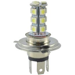 Wholesale Smd Led For Car - DC 12V H4 18 SMD 5050 Bulb LED Lamp for Car Led H4 Fog Light Super Bright White