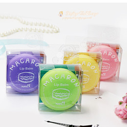 Wholesale Magic Cute - Fashion Women Nutritious Fruity Lipstick Creative Magic Color Lip Balm Cute New Makeup Round Pomade For Girl