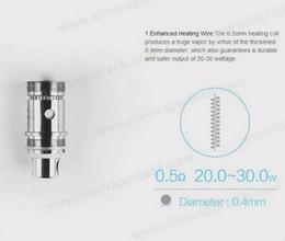 Wholesale Ecig Kanger Protank - Melo Atomizer Coil 0.5ohm Organic Cotton Replacement ecig coils Sub Coil for Melo Tank vs kanger mini protank 3 coil FJ076