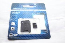 Wholesale Micros Sd - DHL 2018 128GB Class 10 Micro SD TF Memory Card with mini GIFT Adapter Retail Package Flash SD Cards