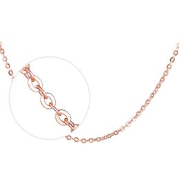 Wholesale Wholesale Jewelry Items - 925 sterling silver rose gold 18-inch cable chain necklace female Korean jewelry items O word chain manufacturers wholesale
