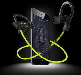 Wholesale cell phone hangings - 56S Sports Bluetooth Headset Universal Wireless Bluetooth Headphone Hanging Ear Style Stereo Anti-sweat Hi-Fi Music Earphone