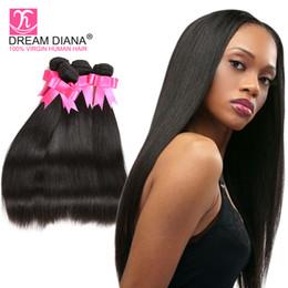 2019 коричневые камбоджийские волосы переплетаются 7а перуанский волосы прямые переплетения 3 пучки перуанский волос связки прямой человеческих волос Weave человеческих волос Remy