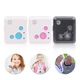 Wholesale Free Gps Monitoring - Mini Personal Kids Child GSM GPRS GPS Tracker RF-V16 SOS Communicator 7 Days Standby Voice Monitoring Lifetime Free Tracking