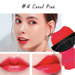 Wholesale Carol Red - The Lazy Lipstick series matte makeup Waterproof 4 colors:#1 Berry, #2 Deep Raspberry, #3 Pumpkin Red, #4 Carol Pink DHL free shipping
