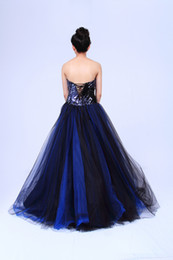 Wholesale Sequin Bra Halter - Free shipping 2015 Classic Bra-style sequined halter gauze bandage waist skirt solid color long section of the classic fashion dress free ta