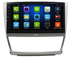 Tv für car camry online-Freies Verschiffen Android 6,0 10,1 Zoll Auto Dvd Gps für Toyota Camry 4-Core Lenkradsteuerung wifi DVR-Unterstützung