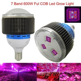 Wholesale Smd 3528 Growing Plants - 2015 Revolutionary Innovation 7band Cob led grow light panel 600w Full Spectrum lamp for plants Factory Promotion