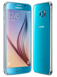 Wholesale Android Inch Phones - 100% Refurbished Original Samsung Galaxy S6 G920A G920T G920V G920P G920F Cell Phone Octa Core 3GB 32GB 16MP 5.1 inch 4G LTE