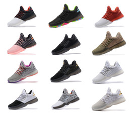 Wholesale Fashion Flats - 2017 Harden Vol. 1 BHM Black History Month Mens Basketball Shoes Fashion James Harden Shoes Outdoor Sports Training Sneakers Size 40-46