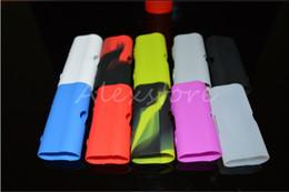 Vape kbox nano on-line-Caso de silicone casos de silício saco de manga de borracha colorido capa protetora da pele para kanger kangertech subox nano kbox bateria vape caixa mod dhl