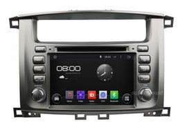 """Wholesale Toyota Land Cruiser Aux - Quad-Core 1024*600 HD 2 din 7"""" Android 4.4 Car DVD Player for toyota Lander Cruiser 100 With 3G WIFI Bluetooth IPOD TV Radio  RDS USB AUX IN"""