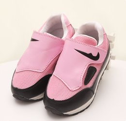 Wholesale Wholesale Fashion Korean Sneakers - 2015 Autumn New Arrival Net Shoes For Kids Korean Style Fashion Style Kids Casual Shoes Korean Children Sneakers 21-30 5pair lot T643XQZ
