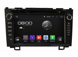 "Wholesale Car Dvd Honda Crv - Quad-Core 1024*600 Android 4.4 HD 2 din 8"" Car Radio Car DVD GPS for Honda CRV CR-V 2006-2011 With 3G WIFI Bluetooth IPOD TV USB AUX IN"