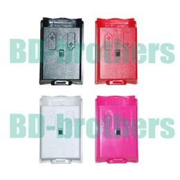 Coloré boîtier de la batterie Cover Shell logement pour Xbox 360 Xbox360 sans fil Controller Rechargeable remplacement noir blanc rouge rose 1000pcs / lot ? partir de fabricateur