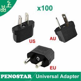 Wholesale Socket Outlet Converter - Wholesale Universal Travel Adapter Charger EU US AU Plug Converter Euro Europe USA AUSTRALIA Wall Sockets Power Adapter Outlet